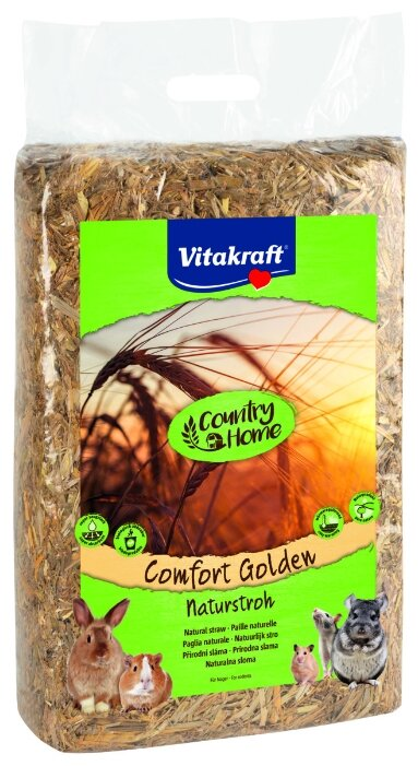 Солома Vitakraft Comfort Golden 30 л