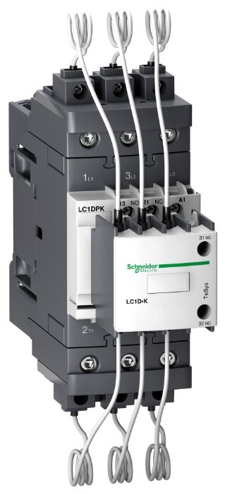 Магнитный пускатель (контактор) для емкостной нагрузки Schneider Electric LC1DPKP7