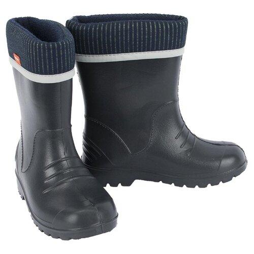 Резиновые сапоги Demar размер 26/27, черныйРезиновые сапоги<br>