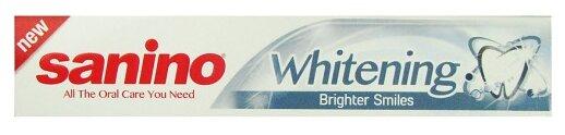 Зубная паста Sanino Whitening