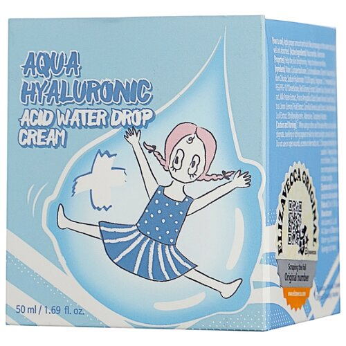 Elizavecca Aqua Hyaluronic Acid Water Drop Cream Крем для лица, 50 мл крем для лица ullex hyaluronic acid