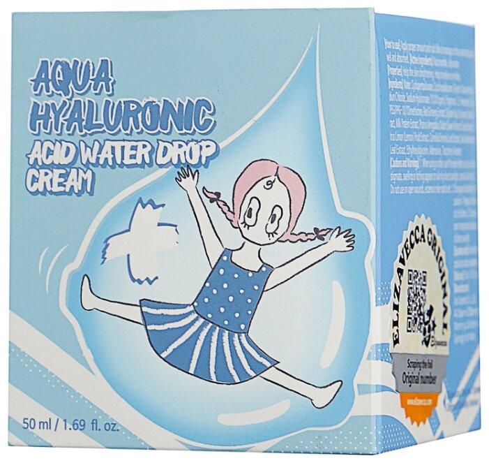 Крем с гиалуроновой кислотой Elizavecca Aqua Hyaluronic Acid Water Drop Cream