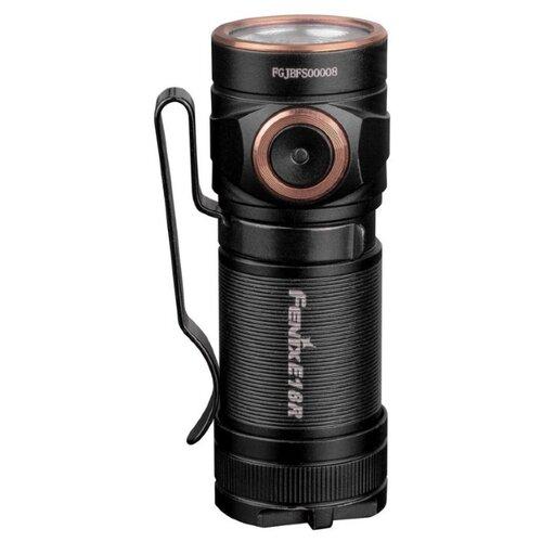 Ручной фонарь Fenix E18R Cree XP-L HI черный налобный фонарь fenix hl15 cree xp g2 r5 neutral white черный