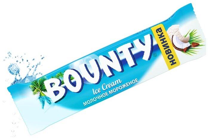 Мороженое Bounty молочное в шоколадной глазури 39,1 г