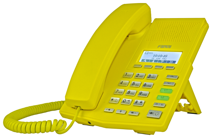 VoIP-телефон Fanvil X3P yellow
