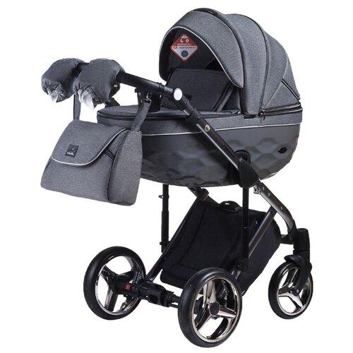 Купить Универсальная коляска Adamex Chantal Special Edition/Polar (3 в 1) C5 graphite, Коляски