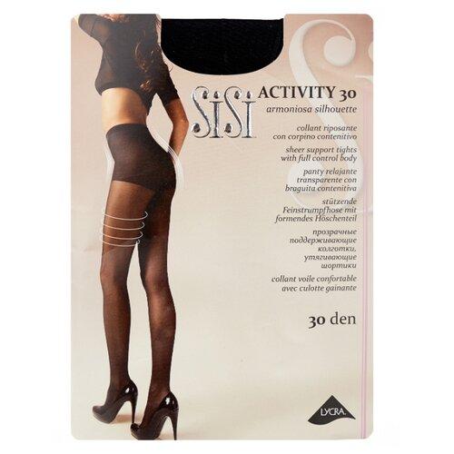 Фото - Колготки Sisi Activity 30 den, размер 3-M, nero (черный) колготки sisi activity 30 den размер 3 m naturelle бежевый