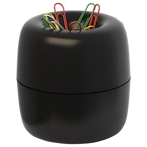 ErichKrause Диспенсер для скрепок магнитный (605) черный