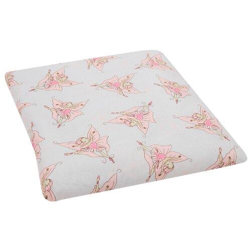 Подушка Зайка Моя Фея-балерина 40х40 см розовыйПокрывала, подушки, одеяла<br>