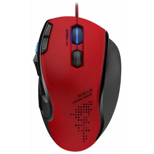 Мышь SPEEDLINK SCELUS SL-680004-BKRD Black-Red USB