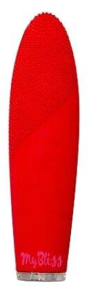 MyBliss Щетка для очищения лица Borim, красная