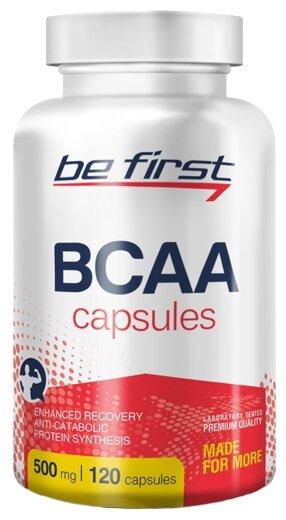 BCAA Be First BCAA Capsules (120 шт.)