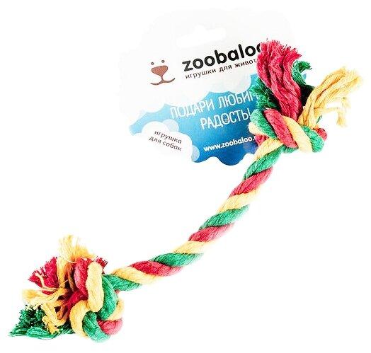 Канат для собак Zoobaloo Грейфер цветной 28 см