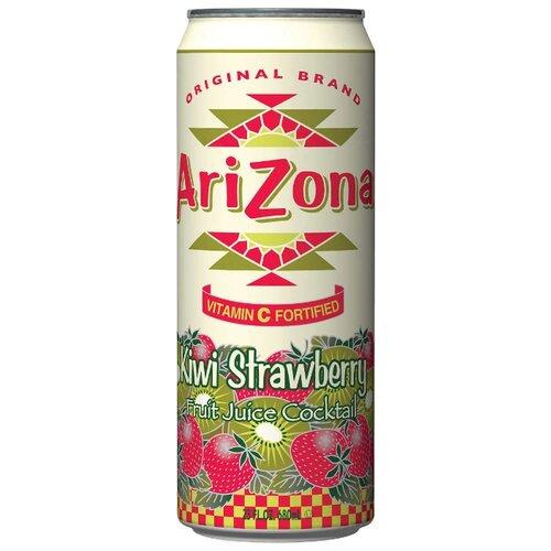 Напиток сокосодержащий AriZona Kiwi Strawberry, 0.68 л бермуды quelle arizona 671463