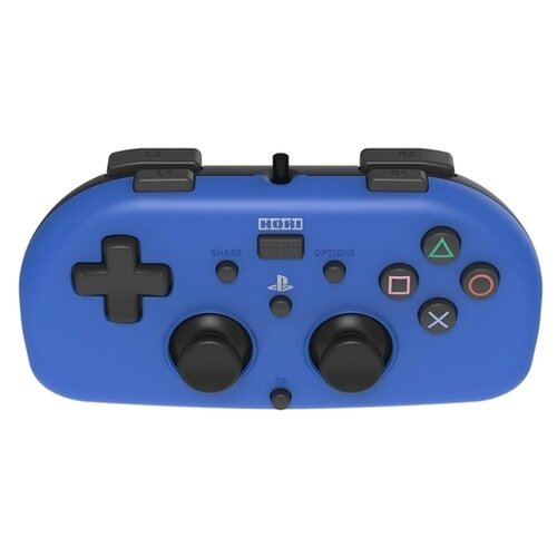 Геймпад HORI Horipad Mini for PS4 blue аркадный стик hori arcade stick realarcade pro 4 kai ps4 015e