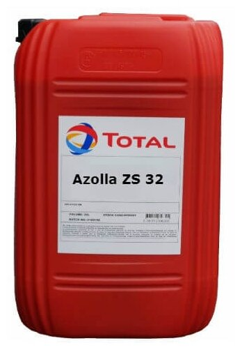Гидравлическое масло TOTAL Azolla ZS 32 20 л 18 кг