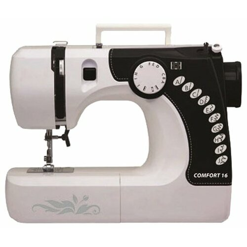 Швейная машина Comfort 16, бело-черный швейная машина comfort 18 белый