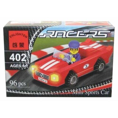 Конструктор Qman Racing Force 402 Гоночная машина