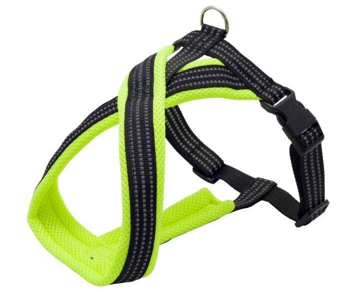 Шлейка КАСКАД Premium X-образная (60-70 см), обхват шеи 50 см