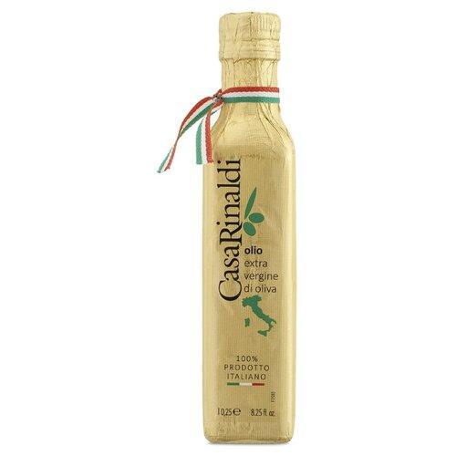 Casa Rinaldi Масло оливковое 100% Italian в золотой бумаге 0.25 л casa rinaldi масло оливковое pomace sansa стеклянная бутылка 0 5 л