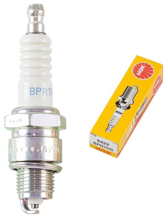 Свеча зажигания NGK 6422 BPR7HS — цены на Яндекс.Маркете