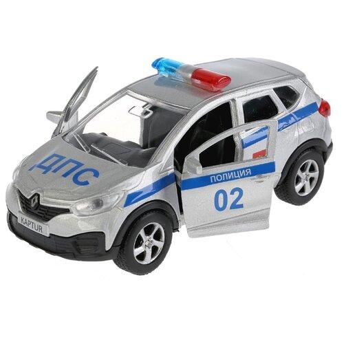 Купить Легковой автомобиль ТЕХНОПАРК Renault Kaptur (SB-18-20-RK-P-WB) 12 см серебристый, Машинки и техника