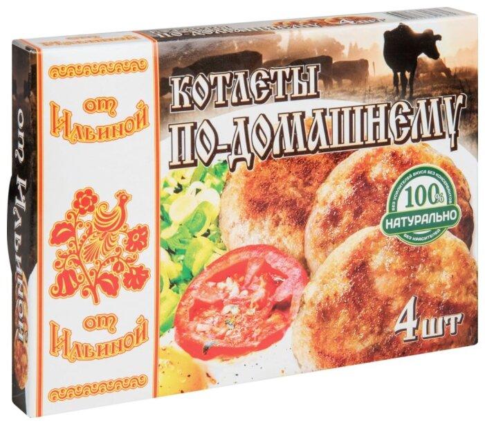 От Ильиной Замороженные котлеты по-домашнему свинина-говядина 300 г