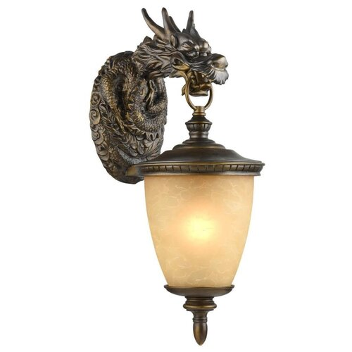 цена на Favourite Уличный настенный светильник Dragon 1716-1W