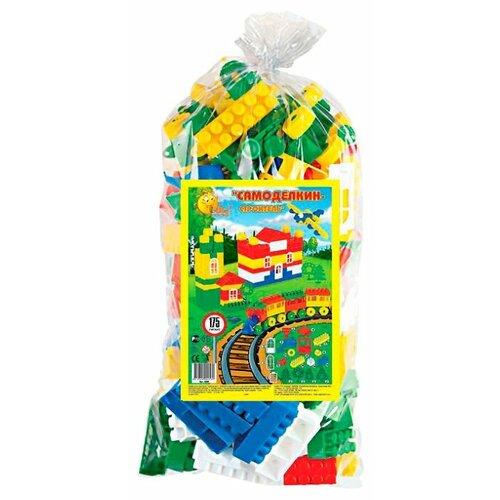 Фото - Конструктор Полесье Строитель 0569-175 Гигант полесье набор игрушек для песочницы 468 цвет в ассортименте
