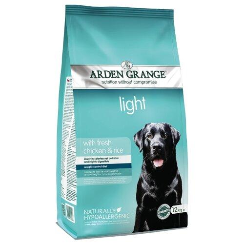 Корм для собак Arden Grange (12 кг) Adult Light курица и рис сухой корм для взрослых собак, диетический arden grange arden grange adult pork
