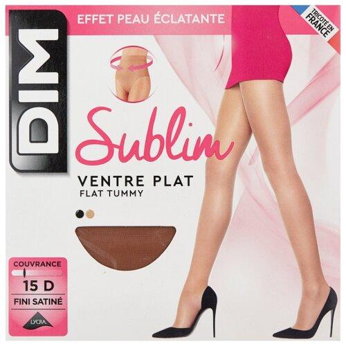 Колготки DIM Sublim Ventre Plat 15 den, размер 2, gazelle (бежевый) fra0109 plat sv0108 2