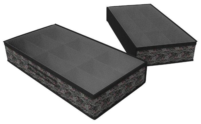 Cofret Чехол для обуви черный/мультиколор