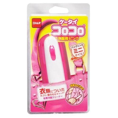 Japan Premium Pet ролик для сбора шерсти животных с одежды розовый