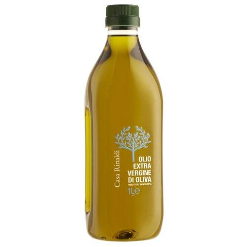 Casa Rinaldi Масло оливковое Extra Virgin, пластиковая бутылка 1 л casa rinaldi масло оливковое pomace sansa стеклянная бутылка 1 л