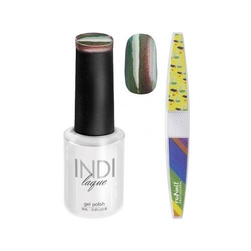 Набор для маникюра Runail пилка для ногтей и гель-лак INDI laque 3672Гель-лак<br>