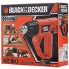 Строительный фен BLACK+DECKER KX2001