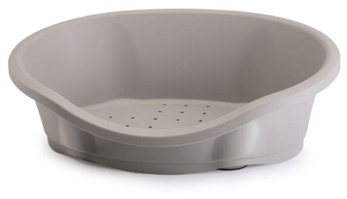 Лежак пластмассовый для собак и кошек IMAC Dido 65 (65х47х22см) серый