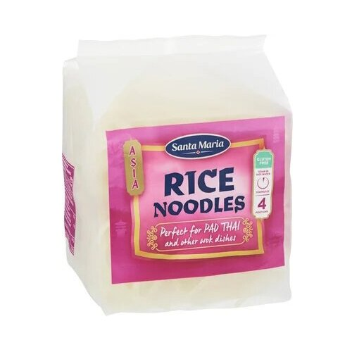 Вермишель Santa Maria Rice Noodles рисовая 180 гЭтнические макаронные изделия<br>