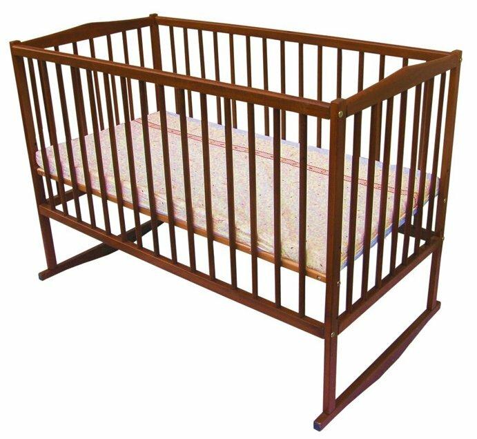 Кроватка Mopan Антошка на дугах 60х120