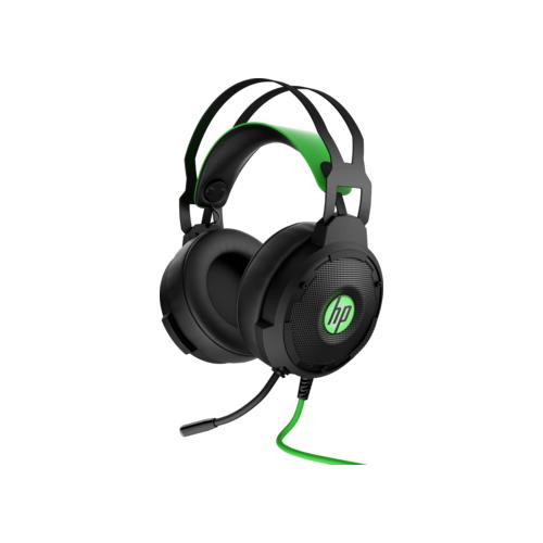 Компьютерная гарнитура HP Pavilion Gaming Headset 600 черный/зеленый компьютерная гарнитура hp omen mindframe prime белый