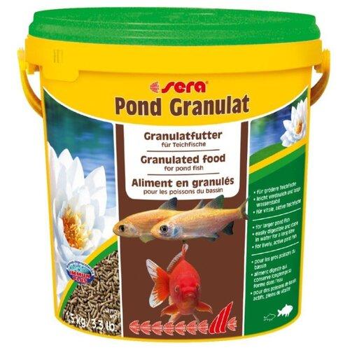 Сухой корм для рыб Sera Pond Granulat 10000 мл 1500 г