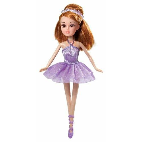 Интерактивная кукла Карапуз Балерина Мария 29 см 6536-RU