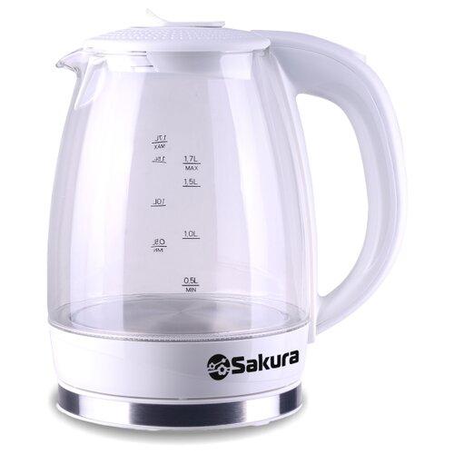 Чайник Sakura SA-2717, белый