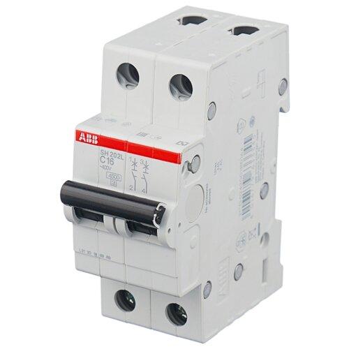 Автоматический выключатель ABB SH202L 2P (С) 4,5kA 25 А автоматический модульный выключатель abb 2п c sh202l 4 5ка 16а 2cds242001r0164