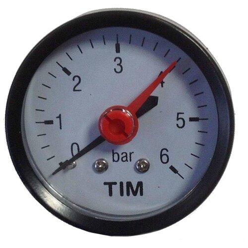 Аналоговый манометр Tim Y50T-6bar