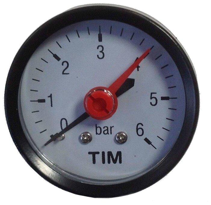 Манометр аксиальный 6 бар TIM Y50T-6bar
