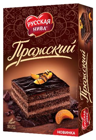 Торт Русская нива Пражский — купить по выгодной цене на Яндекс.Маркете