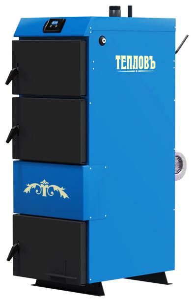 Твердотопливный котел ТЕПЛОВЪ Универсалъ TA-10 10 кВт одноконтурный