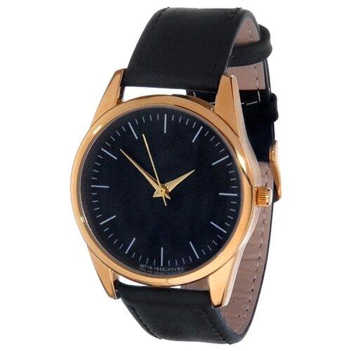 Наручные часы Mitya Veselkov Классика в черном (Gold-7) часы наручные mitya veselkov обратный циферблат gold