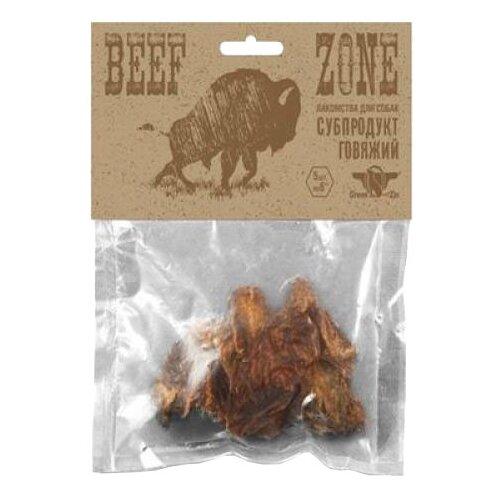 Лакомство для собак Green Qzin Beef zone Сушеное говяжье мясо 3, 5шт. в уп.Лакомства для собак<br>